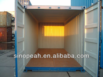 20ft ISO dry cargo steel shipping container