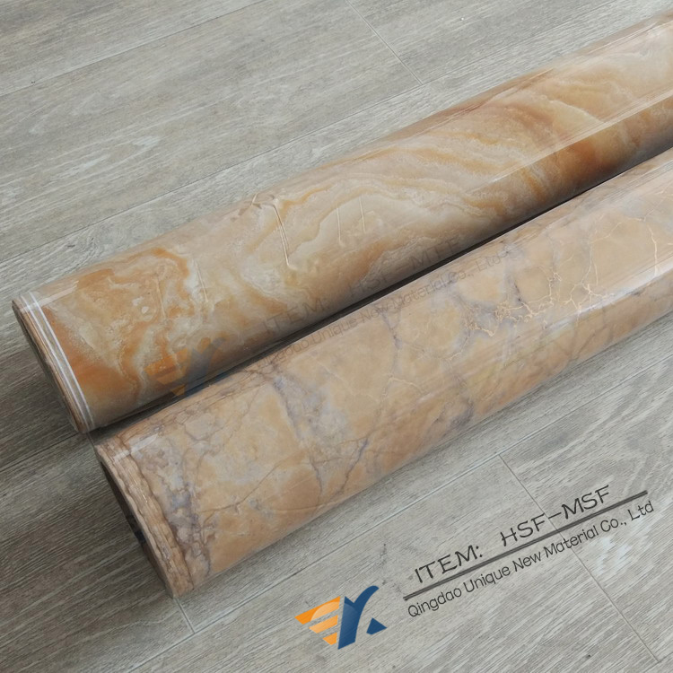 PET Marble Hot Stamping Printing Foil For MDF