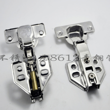Stainless steel hydraulic self closing heavy duty cabinet hinge