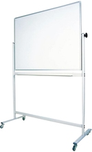 Magntic white board with wheels
