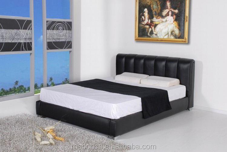 wooden double bed design BD007