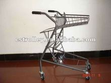 Japanese style Supermarket Push Cart,Shopping Trolley,Trolley Cart
