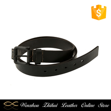 2017 Designer Simple Style Formal Office Mens Brand Leather Belt With Pin Buckle