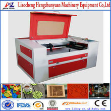 plastic letters laser cutting machine/mini wood laser engraving machine