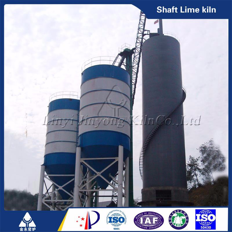 Factory direct offer high quality vertical shaft lime kiln for paper industry