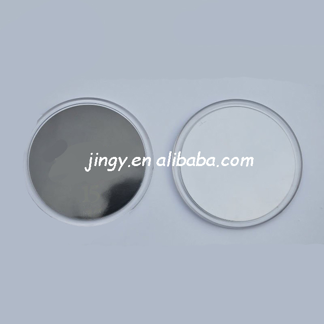 round type and suitable for any cup acrylic clear coaster