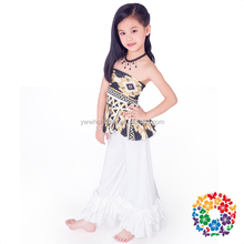 Baby Toddler & Infant Clothes Off-Shoulder Baby Girls Ruffle Clothing Sets Cotton & Polyester Boutique Clothing Sets