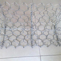Galmac (galfan) coated with a 95%Zinc + 5% Aluminum Mischmetal Alloy Woven Gabion Cage Stone Wall Wire Basket Gabin box