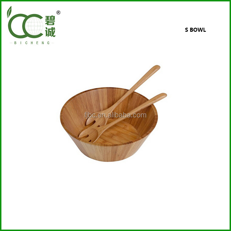 Eco-Friendly Bamboo popcorn bowl
