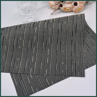 cheap plastic mats interior decoration PVC fabric for table runner