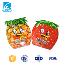 Custom printing food grade liquid jelly food packaging bag
