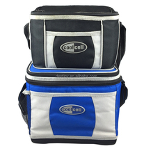 Traveling Picnics Camping BBQs Sporting 12 cans 6 cans Lunch Box plastic liner Cooler Bag Leakproof Hard Liner