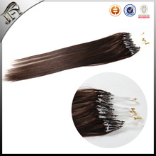 2016 factory new cheaper Indian remy micro loop ring hair extension