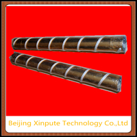 Wire or rope ink stirring roller Gravure Printing ink