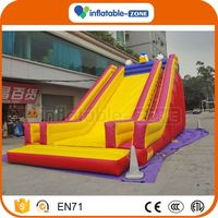 Factory Supply single lane inflatable slide new design inflatable slide n slip combo