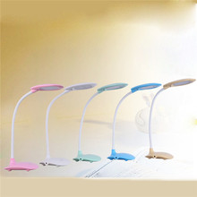 New Portable Folding LED Foldable Rechargeable Table Study Reading Light Desk Lamp