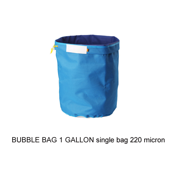 BUBBLE BAG 1 GALLON hash bag 220 micron