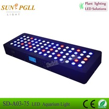 New style timer and dimmer . sunrise and sunset led aquarium light fish tank led aquarium lightings