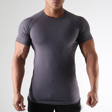 Gym <strong>Apparel</strong> <strong>Mens</strong> 95% Cotton 5% Elastane Fitness Shirts Wholesale