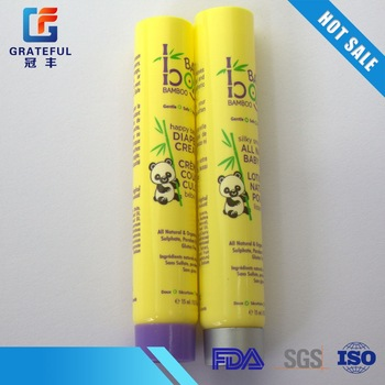 ISO9001 Good quality aluminum foil sealing toothpaste tube