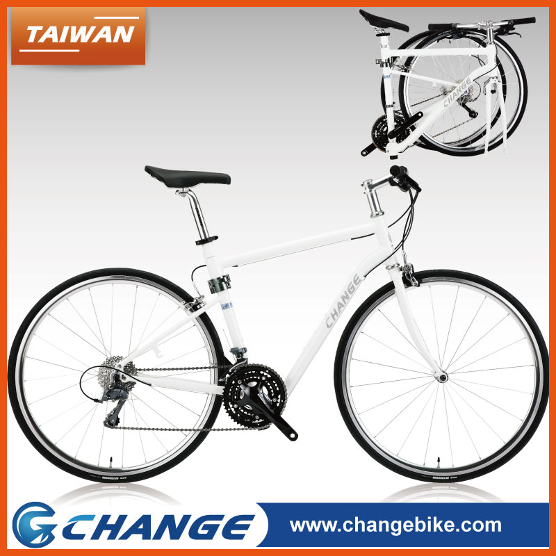 CHANGE Taiwan lightweight 700C racing bicycle road bike folding bikes