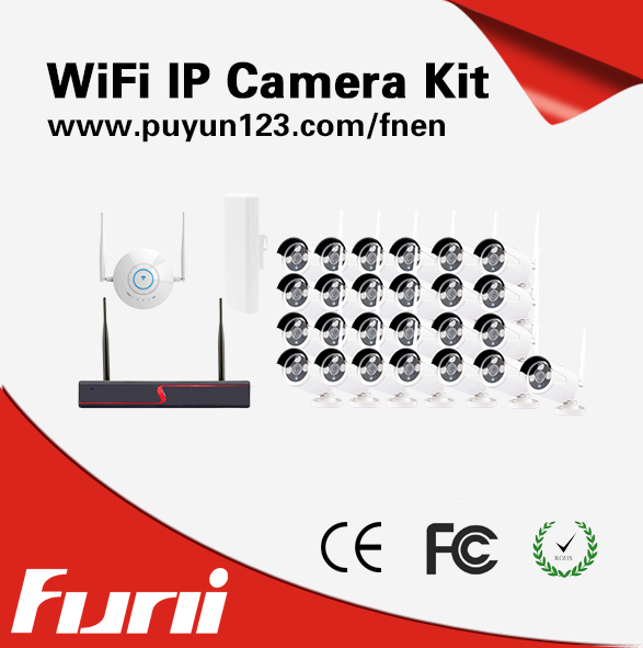SecuVision home 24ch Outdoor Waterproof Day Night Security Camera System 24 Channel CCTV AHD 960H DVR NVR video surveillance kit