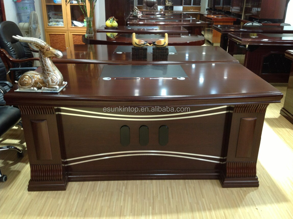 ronde bord mdf papier 1 6 m bureau bureau patron table en bois table de bureau buy product on. Black Bedroom Furniture Sets. Home Design Ideas
