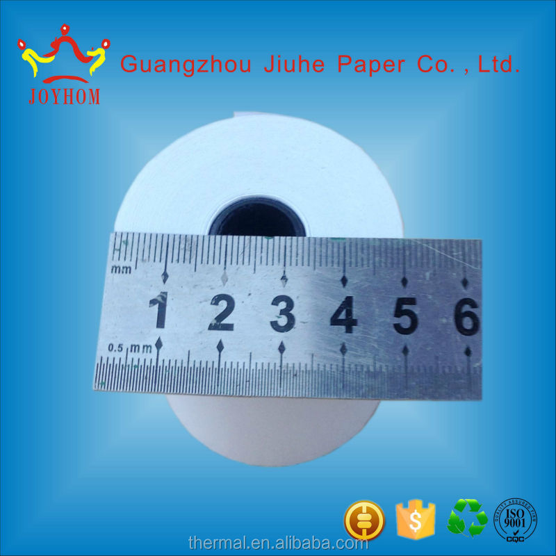 Guangzhou product 58mm thermal paper rolls coreless 230 thermal paper