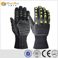 Sunnyhope leather winter hunting shooting gloves