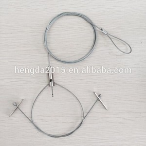 Wholesale cheapest price ceiling attachment cable gripper wire rope