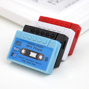 2018 NEW Nostalgic mini portable magnetic tape MP3 player cassette walkman supports SD TF card