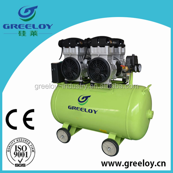 oil free air compressor with total 2 motors 3200W power
