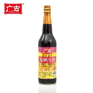 620ml Natural Soy Sauce Traditional Low Salt Light Soy Sauce For Cooking
