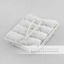 airline disposable organic terry wet cotton towel