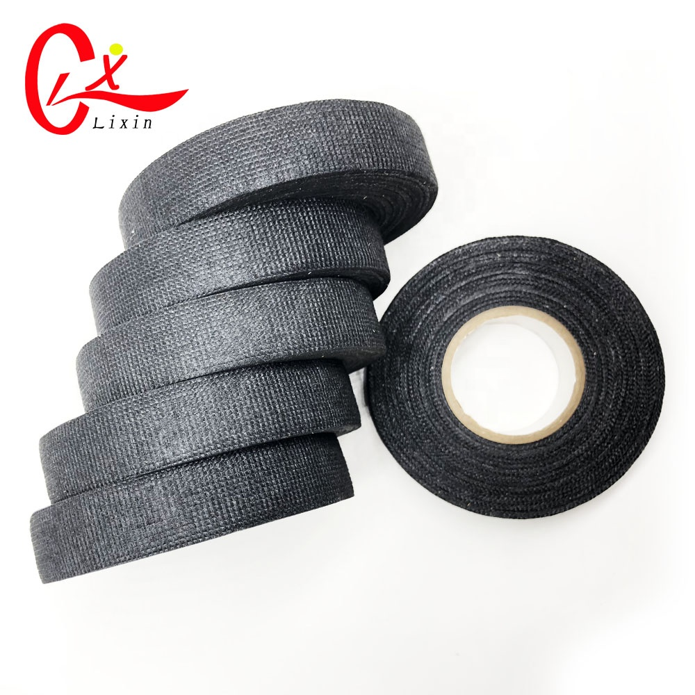 Wholesale Electrical Cable Rubber Insulation Online Buy Best Cloth High Heat Resistant Wiring Insulating Tape 15m 19mm15m Black Strongrubber Strong Adhesive Fabric Cotton