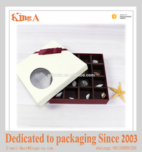 Customized wholesale luxury paper chocolate box Christmas gift packaging