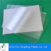 Breathable Plastic Film Paper Covering Clear Transparent Laminating Pouches Films