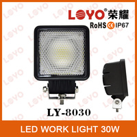 How Sale !!! Auto Square 12V 24V LED Lamp 30W LED Work Light Offroad/SUV/Truck