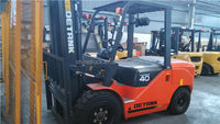four wheel drive/4 ton Diesel forklift for sale in Malaysia