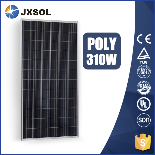 310watt polycrystalline best price 12v 24v 48v Home solar system solar panel
