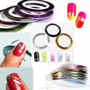 Hot sell magnetic stripe tape decorative glitter tape for nail decoration