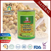 Natural Food Kosher Canned Sweet Corn with Whole Kernel in Can Food