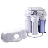 rust proof oil pressure meter ro water filter system R.O water purifier reverse osmosis water filters