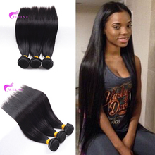 Alibaba <strong>Express</strong> Best Quality Hair Bundles Virgin Mongolian Straight Hair Weaves 3pcs/lot Natural Color Can be Bleached
