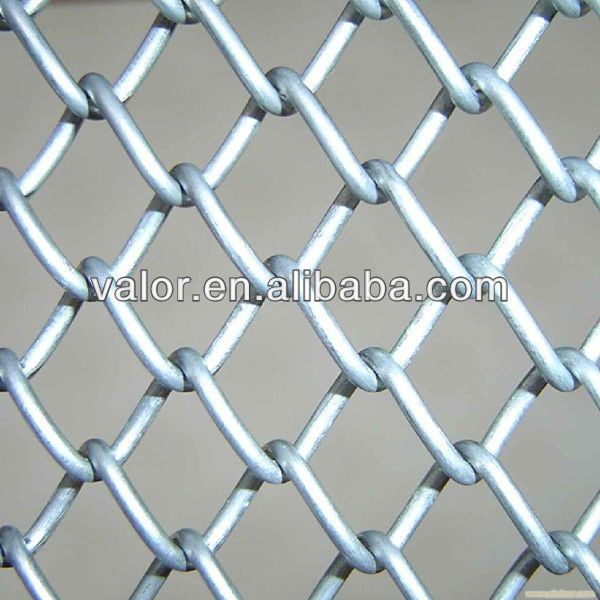 "Black Chain Link Fence Post 2"" x 6ft"