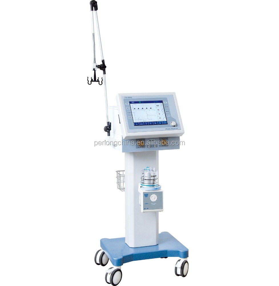 PA-900B Standard Medical Equipment Hospital Breathing Apparatus / ICU ventilator machine price