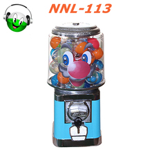 Factory price NNL113 plastic gumball machine
