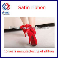 Red Double Face Satin Ribbon For