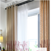 manual curtain model ready made and blackout fabric curtain for kitchen
