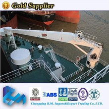 50 ton folding boom marine crane with level wind